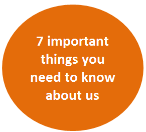 7 important things you need to know