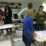 Teachers on behaviour management training